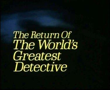 SHERLOCK HOLMES-LARRY HAGMAN-WORLD'S GREATEST DETECTIVE