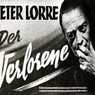 Der Verlorene aka The Lost One 1951  Peter Lorre