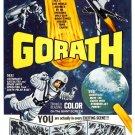Gorath 1962 both original Japanese & English versions