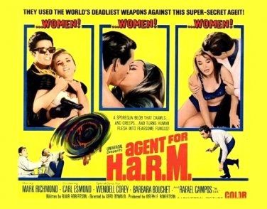 Agent for H.A.R.M.  1966
