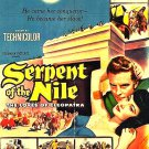 Serpent of the Nile  1953  William Castle