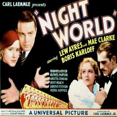 Night World 1932  Boris Karloff