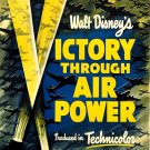 Victory Through Air Power   Rare WWII  1943