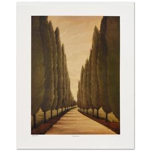 "Steven Lavaggi - ""Tuscany Lane"" Limited Edition Lithograph"