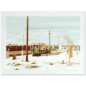 """William Nelson - """"Kimball Turnaround"""" Limited Edition Serigraph, Hand signed"""
