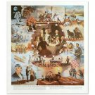 "William Nelson - ""Centennial History of U.S.""  Signed Lithograph"