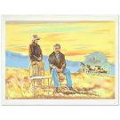 "William Nelson - ""The Homesteaders"" Limited Edition Lithograph"