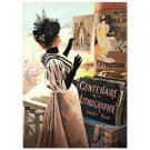 """Exposition Du Centenaire"""" Hand Pulled Lithograph by the RE Society"""