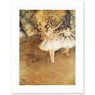 "Two Ballerinas"" Fine Art Print by Degas (1834-1917)"