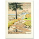 """""""Forest"""" Limited Edition Lithograph by Clarence Holbrook Carter (1904-2000)"""