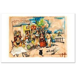 Gretty Rubinstein - Happy Sundae Limited Edition Lithograph