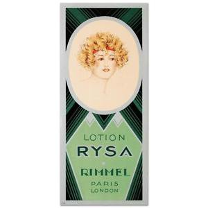 Rimmel Lotion Rysa Hand Pulled Lithograph Poster Art Deco