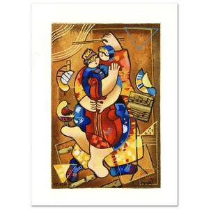 """Dorit Levi! """"Our Strings Attached"""" Ltd Ed Serigraph, Numbered, hand signed w/COA"""