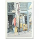 "William Nelson - ""Second-Hand Store"" Limited Edition Lithograph, Signed"