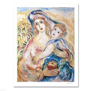 "Zamy Steynovitz ""Mother's love"" Numbered and Signed by Artist"