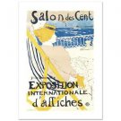 """Salon Des Cent"" Hand Pulled Litho by the RE Society, Orig. Toulouse-Lautre"