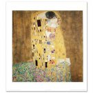 """The Kiss"" Fine Art Print by Gustav Klimt  Created w/ EncreLuxe Printing Process"