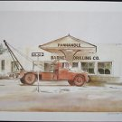 William NELSON, Original Lithograph, Amarillo, Signed Numbered New unframed