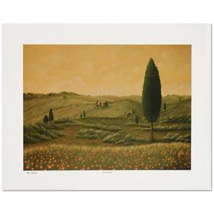 """Steven Lavaggi - """"Tuscan Vision"""" Limited Edition Lithograph, Hand Signed"""