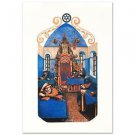 """Yeshiva in Jerusalem"" Limited Edition Embossed Lithograph by Amram Ebgi, w/COA"