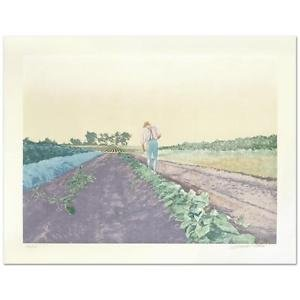 "William Nelson - ""Cabbage Patch"" Limited Edition Serigraph, Hand signed"
