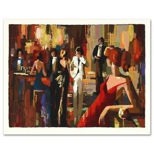 """""""Spotlights"""" Limited Edition Serigraph by Nelly Panto, Numbered and Hand Signed"""