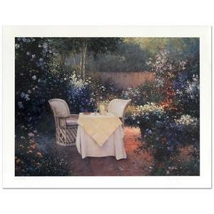 """Sergon! """"Garden Pleasures"""" Limited Edition Giclee, Numbered and Hand Signed"""