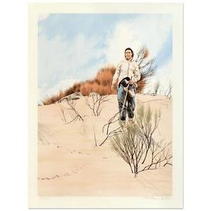 """William Nelson - """"The Sheepherder"""" Limited Edition Lithograph, Signed"""