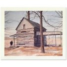 "William Nelson - ""End of Season"" Limited Edition Lithograph, Signed Artist Proof"