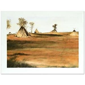 "William Nelson - ""Nightfall"" Limited Edition Lithograph, Signed 7/425 edition"