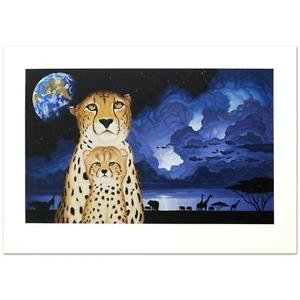 """Guardians of the Night"" Limited Edition Serigraph by William Schimmel, Numbered"