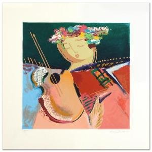 "Lee White! ""Serenade I"" Limited Edition Serigraph, Numbered, Hand Signed 6/50 PP"