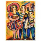 "Zamy Steynovitz (1951-2000)! ""Purim"" Limited Edition Serigraph Hand Signed 4/300"