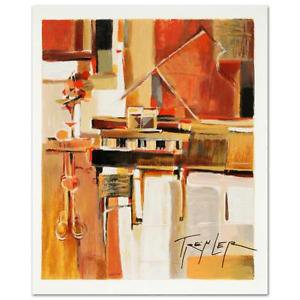 "Yuri Tremler! ""Piano"" Limited Edition Serigraph, signed with COA 272/490"