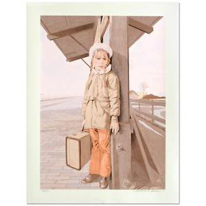 """William Nelson - """"Little Girl Lost"""" Limited Edition Serigraph, signed/numbered"""
