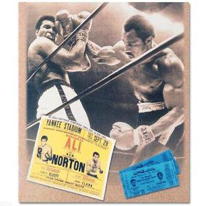 Muhammad Ali and Ken Norton! Licensed Photograph of the Heavyweight Champ