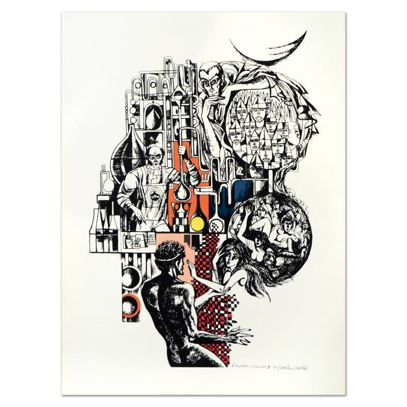 """Salvatore Milichev - """"Romeo & Juliet"""" Limited Edition, Numbered 79/250 SIGNED"""