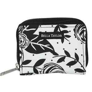 "Bella Taylor Card Case ""Rose Pop"" Wallet 4""L x 3"" W  x 1.25"" NWT"