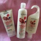 3 PC AVON SENSES BODY CARE FRUITY YOGURT (LOTION+BODY SCRUB+SHOWER GEL) ** NEW**
