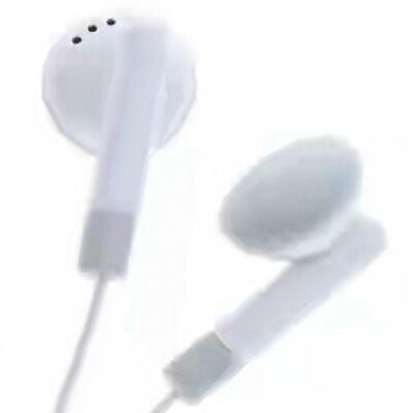 Universal 3.5mm earphones white 2pcs