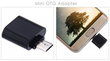 Micro USB OTG Data Transfer and Charging Adapter 2pcs