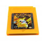 Pokemon Gameboy YELLOW version 100% Working and New Battery!