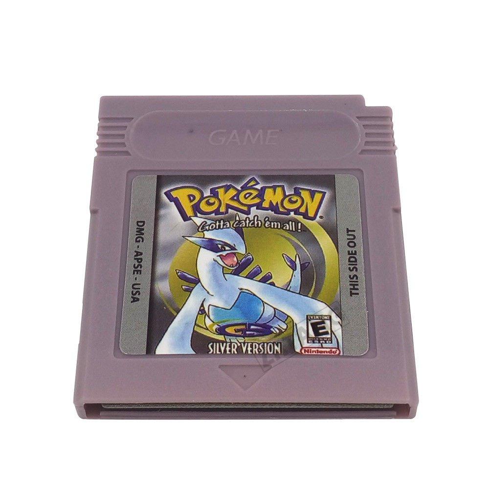 Pokemon Gameboy Silver Version 100% Working