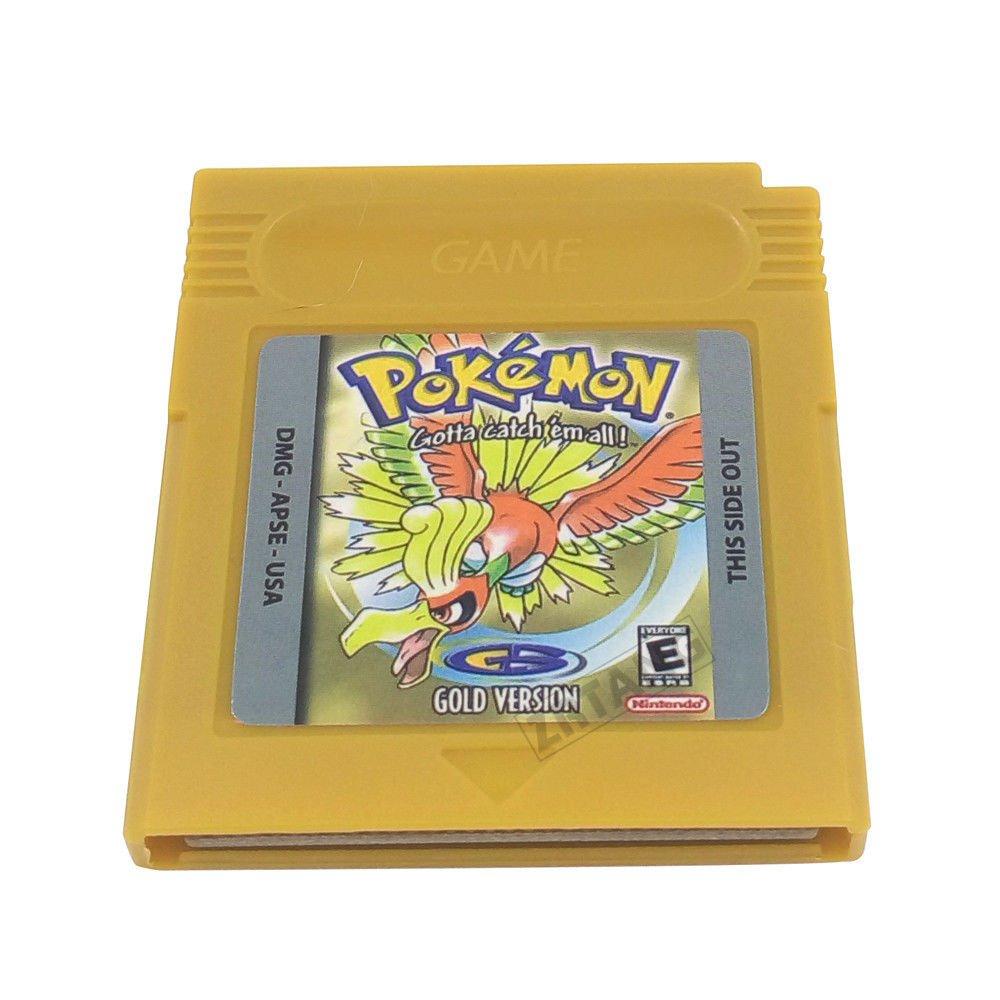 Pokemon Gameboy Gold Version 100% Working