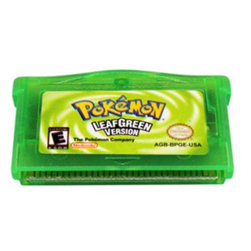 Pokemon Gameboy Advanced Leaf Green