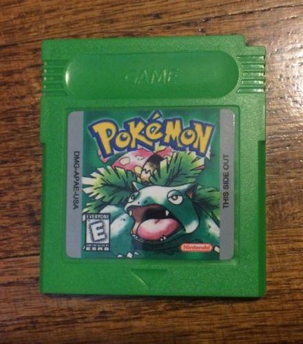 Pokemon Gameboy Green Version 100% Working