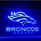 denver Broncos beer bar pub 3d signs LED Neon Light Sign b196