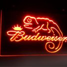 Budweiser Frank Lizard Beer Bar 3d signs LED Neon Light Signs b11