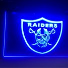 raiders logo beer bar pub 3d signs LED Neon Light Sign b74