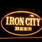 b-146 Iron City Beer bar pub 3d signs LED Neon Light Sign
